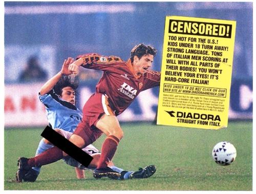 Print Ad for Diadora America
